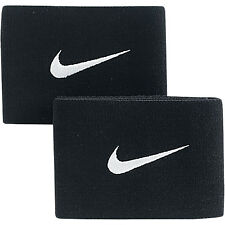 GUARD STAYS - NIKE - ONE SIZE (ADJUSTABLE) -  BLACK- 100% GENUINE NIKE PRODUCT