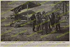 Lietzmann Frhr v. Richthofen Jagdstaffel 11 Fokker Dr.I Offiziere Luftwaffe 1918