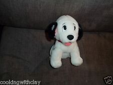 101 Dalmatians Barking Panting Tongue Sticking Out Baby Plush Doll Figure