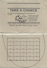 100 Tickets - Spot the Ball - 30 Spaces - Take a Chance Ticket