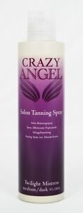 CRAZY ANGEL FAST ACTING SPRAY TAN 6% 9% OR 13% dha