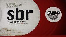 "Sabian Promotional Set 14"" Hats, 16"" Crash, 20"" Ride, 10"" Splash Cymbal Pac"