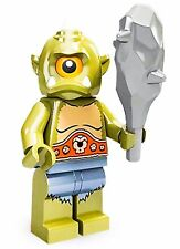 LEGO Minifigures Series 9 71000 Cyclops Green Monster Grey club