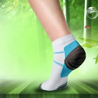 Foot Compression Socks For Plantar Fasciitis Heel Spurs Arch Pain Sport Socks SI