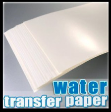 More details for water slide decal paper a4 inkjet waterslide transfer paper – various pack sizes