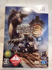 Monster Hunter 3 (Nintendo Wii) Complete Japanese Version inc sleeve, tested