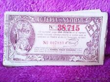LOTERIA DE NAVIDAD ORIGINAL DE MALAGA, LA REAL COFRADIA 1948 15X8 37 U