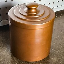"Vintage Copper Humidor Marked ""Dean Barrick Copper & Brass Pasadena"""