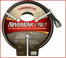 Water Garden Hose Heavy Duty No Kinking or Tangle High Output  3/4-Inch 100' Ft