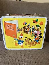 1970 Disney On Parade Metal Lunchbox by Aladdin Industries, Inc. No thermos