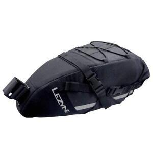 Lezyne XL Caddy Extra Large Adventure Style Bike Seat Bag Black/Black