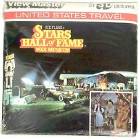SIX FLAGS Stars Hall of Fame Orlando FL 3d View-Master 3 Reel Packet SEALED NIP