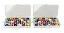 Set of 2 - Bobbin Boxes w/ 28 Assorted Color Prewound Bobbins Each