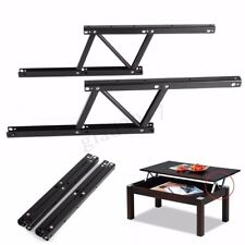 2X Top Coffee Table Lift Up Mechanism Fitting Furniture Spring Hinge