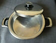 Zepter Edelstahl 9.5 in. Thermo System 18/10 Casserole Pan Nr. 231150 Z4