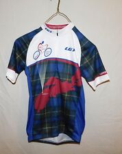 Mens Louis Garneau 1/2 Zip Cycling Jersey sz S Century Ride Middleton NS