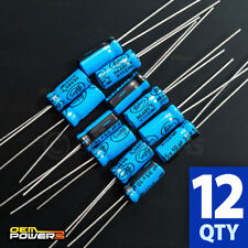 12 x Lelon 10uF/Mfd 35V ±20% 85C Radial-lead Electrolytic Capacitor 2721025 New