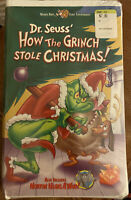 Dr. Seuss - How the Grinch Stole Christmas (VHS, 2000)