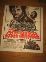 The Cycle Savages Original 1sh Movie Poster