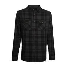 WEST COAST CHOPPERS LA BOMBA FLANNEL SHIRT GREY/BLACK **BRAND NEW & IN STOCK**