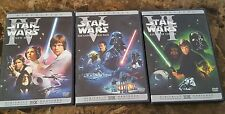 Star Wars A New Hope The Empire Strikes Back Return of The Jedi 3 DVD SET USA 1