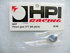HPI 6637 Pinion Gear 64DP 37 Tooth / Yokomo Associated Sakura Tamiya RS4 Sprint