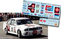 C137 Decal 1:43 Jose Maria Ponce - BMW M3 - Rally El Corte Ingles 1987
