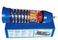 Turbojet Engine Gas Turbine Rotary Engine Cut Section Demonstration Model