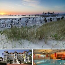 3 Tage Usedom Ostsee Wellness Wochenende Kurzreise 4★ Romantik Hotel Esplanade