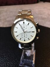 Fossil Townsman Watch Men's Gold Stainless Steel Chronograph FS5348 - NWT
