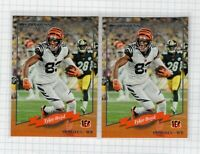 (2 LOT) 2020 Tyler Boyd Panini Donruss Football Insert