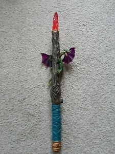 Chap Mei THE WIZARD'S MAGIC WAND Legend of the Dragon LIGHT UP Sounds. Rare.