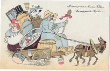 LE LOUPILLON (47) carte illustrée déménagement du Président Fallières