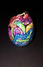 "LISA ROHN ""Decorated Egg"" zentangle inspired INMATE ART"
