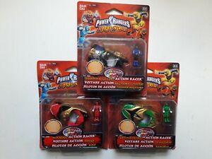 Power Rangers Ninja Storm Action Racers Vehicles and Figures