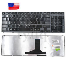 Toshiba Satellite A665 A665-3DV1 Series Spanish SP Keyboard With Frame