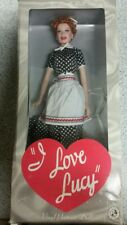 Lucille Ball I Love Lucy Charm School Vinyl Portrait Doll Franklin Very Good