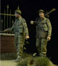1/35 Resin Figure Model Kit British Soldiers Infantry WWII Unpainted Unassambled