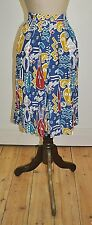 Vintage 80's Faye Willis Abstract Primitive Print Skirt