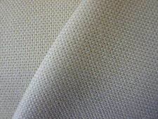 4mts GOOD QUALITY CANVAS TYPE  FABRIC IN BEIGE/NATURAL MADE IN UK!!!!
