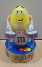 M&M'S CANDY MR YELLOW DRUMMER DISPLAY