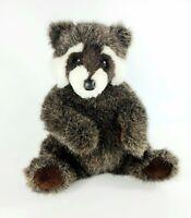 Vintage 1996 Douglas Cuddle Toys Little Cuddlers Raccoon Plush Stuffed Animal