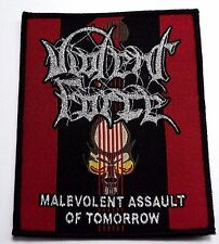 violent force malevolent assault of tomorrow    WOVEN  PATCH