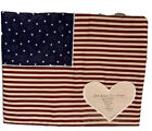 Handmade Military Operation Desert Shield Storm Quilted Wall Hanging Flag Signed