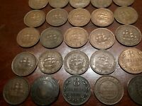 25 suid South African Pennys bits and bobs coins you see is the coins you get