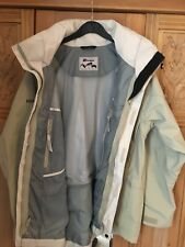 Berghaus aquafoil Jacket With Inner Detachable Fleece Lined Jacket Size 10