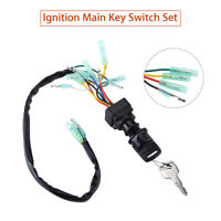 Ignition Main Key Switch 703-82510-43-00 For Yamaha Boat Outboard Motor Control