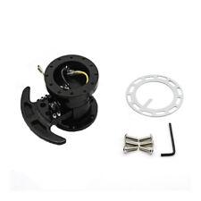 Works Bell Rapfix Flip Up Ilt Racing Steering Wheel Quick Release Hub Kit Black