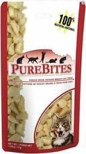 PureBites 100% USDA Freeze Dried Chicken Breast Treats for Cats 0.6 ounces