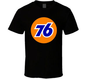 NEW Union 76 Oil Petrol Retro shirt black white tshirt men's free shipping